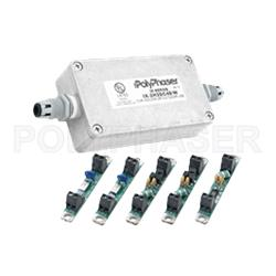 Picture of Twisted Pair Lightning Surge Protector Modules, 10 Pair 24Vdc, Isolated DC Ground, UL 497B